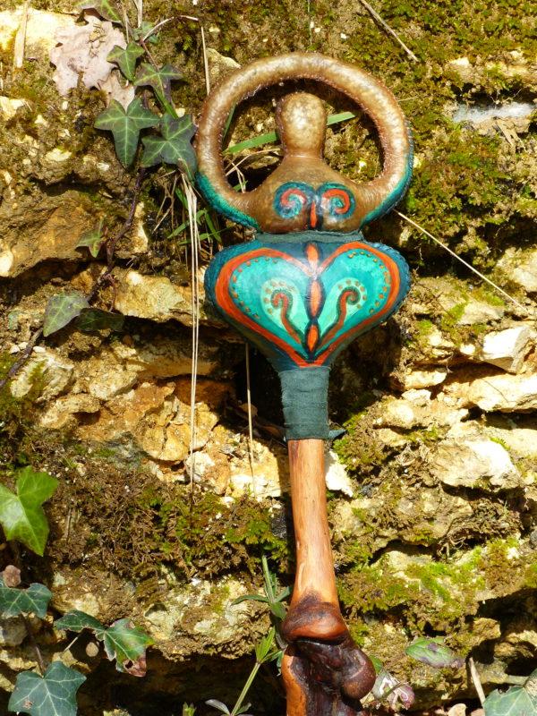 shamanic rattle