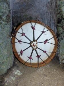 shamanic drum for the divine feminin