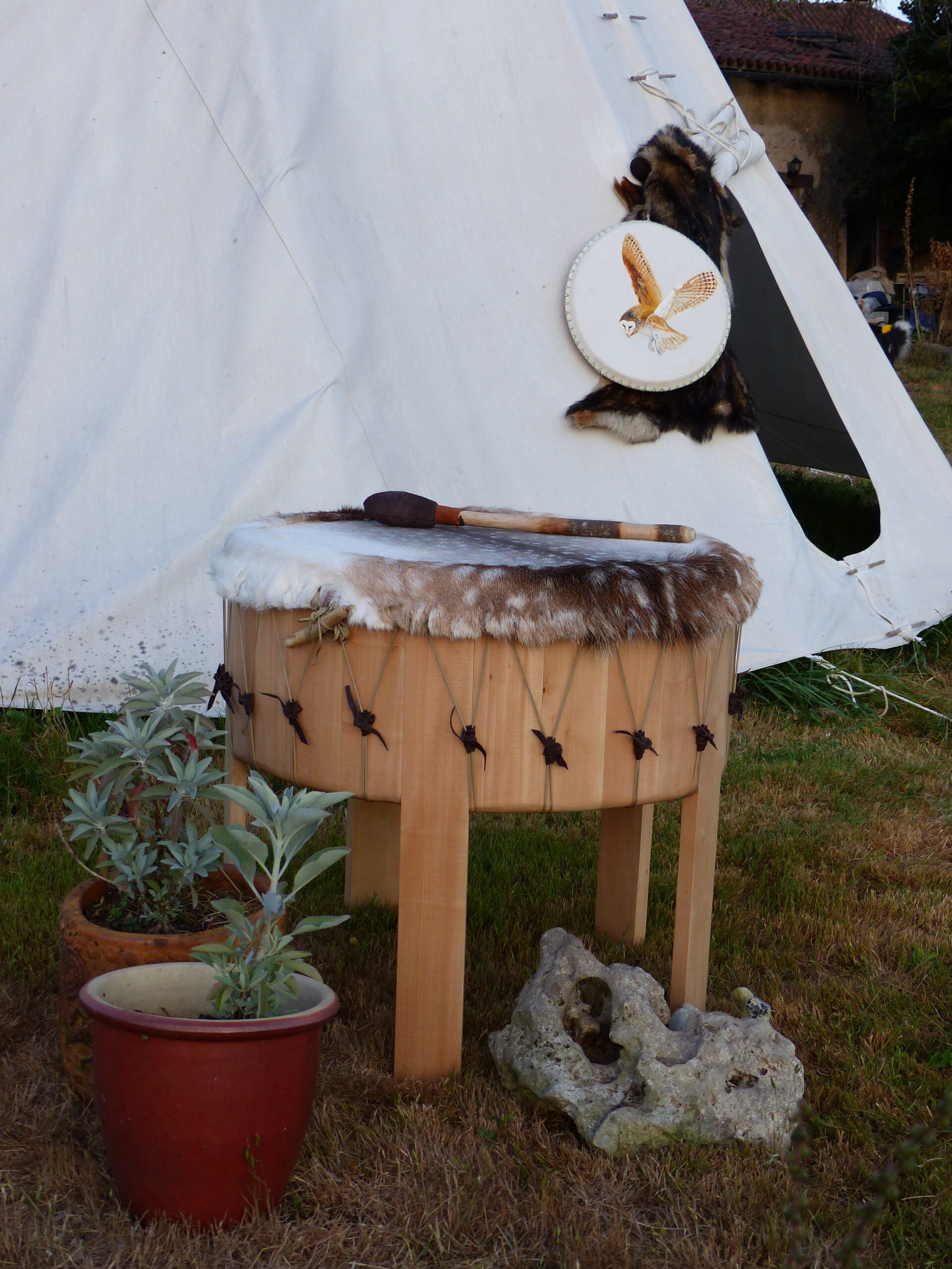 grandmother drum