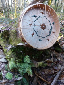 shamanic drum for ceremnial use and meditation
