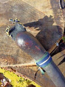 shamanic rattle for ceremonies