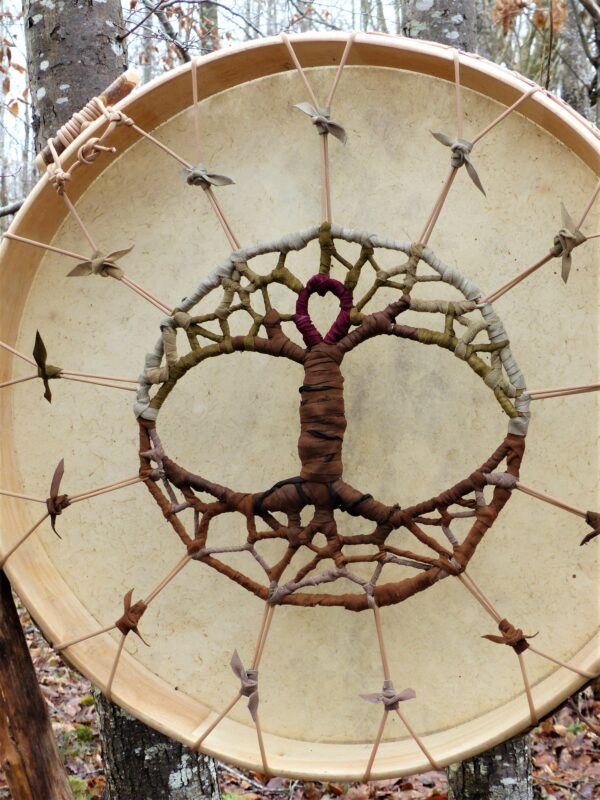 shamanic drum for meditation or guiding groups