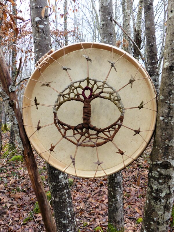shamanic drum for meditation and rituals